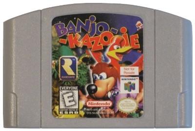 Banjo-Kazooie [Not For Resale] Cover Art