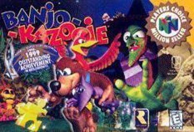 Banjo-Kazooie [Player's Choice] Cover Art