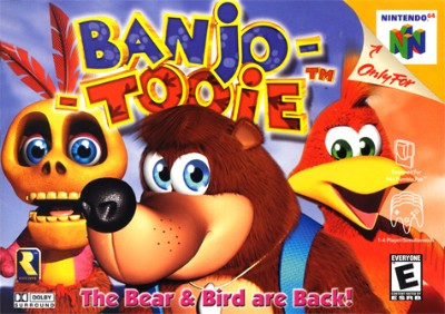 Banjo-Tooie Cover Art
