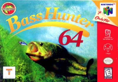 Bass Hunter 64 Cover Art