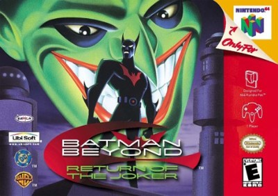 Batman Beyond: Return Of The Joker Cover Art