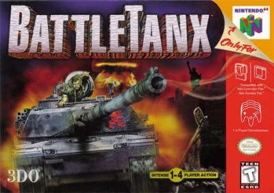 BattleTanx Cover Art