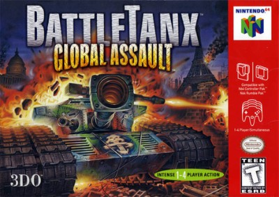 BattleTanx: Global Assault Cover Art