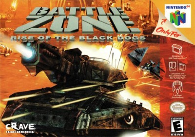 Battlezone: Rise of the Black Dogs Cover Art