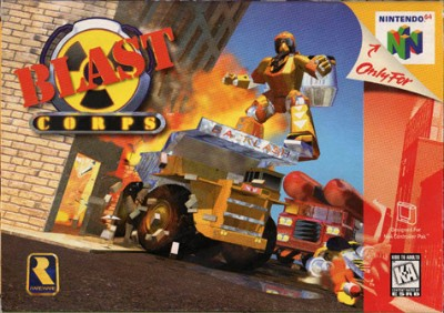 Blast Corps. Cover Art