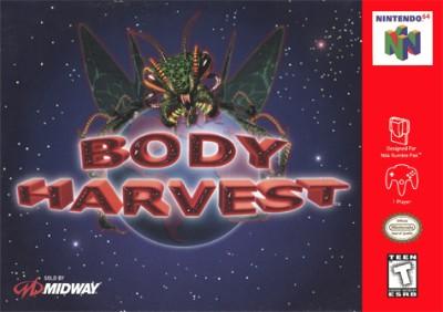 Body Harvest Cover Art