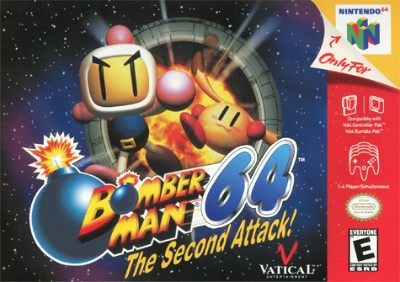 Bomberman 64: The Second Attack Cover Art