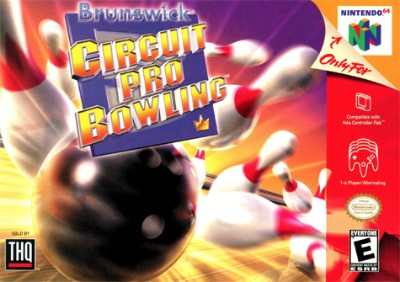 Brunswick Circuit Pro Bowling Cover Art
