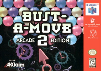 Bust-A-Move 2: Arcade Edition Cover Art