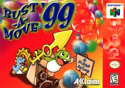 Bust-A-Move '99 Cover Art