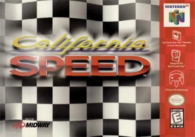 California Speed Cover Art