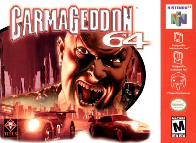 Carmageddon 64 Cover Art