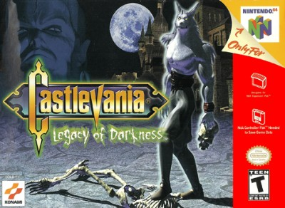Castlevania: Legacy Of Darkness Cover Art