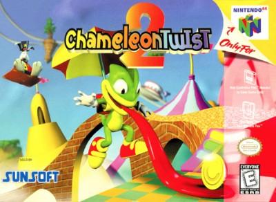 Chameleon Twist 2 Cover Art