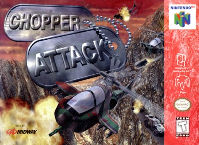 Chopper Attack Cover Art