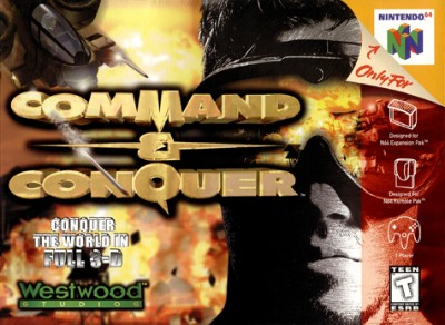 Command & Conquer Cover Art