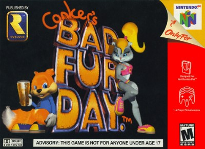 Conker's Bad Fur Day Cover Art
