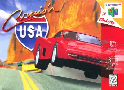 Cruis'n USA Cover Art
