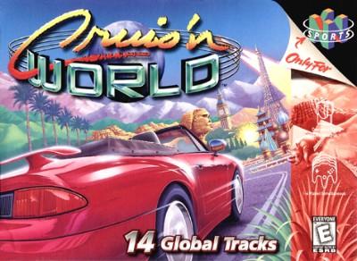 Cruis'n World Cover Art