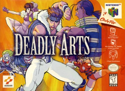 Deadly Arts Cover Art