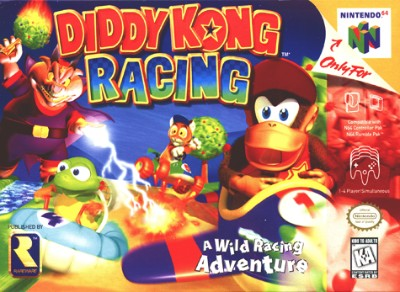 Diddy Kong Racing Cover Art