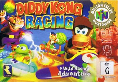 Diddy Kong Racing [Player's Choice] Cover Art