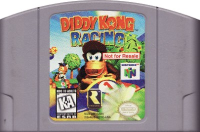 Diddy Kong Racing [Not For Resale] Cover Art