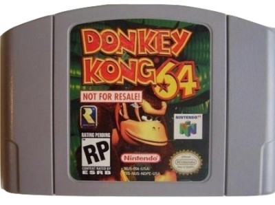 Donkey Kong 64 [Not For Resale][Grey] Cover Art