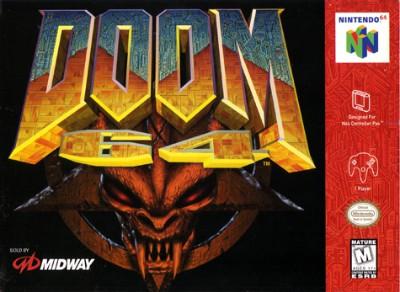 Doom 64 Cover Art