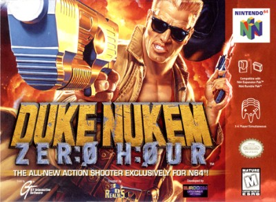 Duke Nukem: Zero Hour Cover Art
