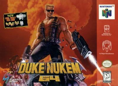 Duke Nukem 64 Cover Art