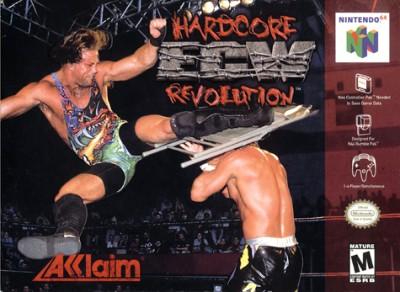 ECW Hardcore Revolution Cover Art