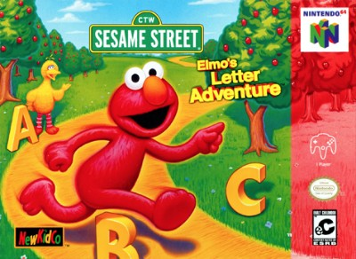 Elmo's Letter Adventure Cover Art