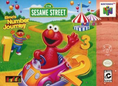 Elmo's Number Journey Cover Art