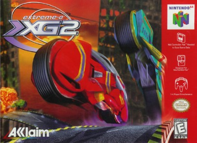 Extreme G II Cover Art