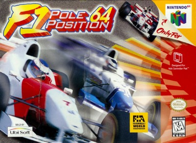 F-1 Pole Position 64 Cover Art