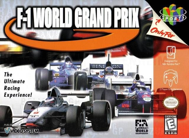 F-1 World Grand Prix Cover Art