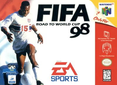 FIFA: Road To World Cup 98 Cover Art