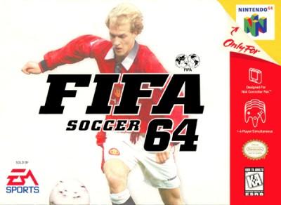 FIFA Soccer 64 Cover Art