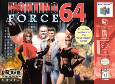 Fighting Force 64 Cover Art