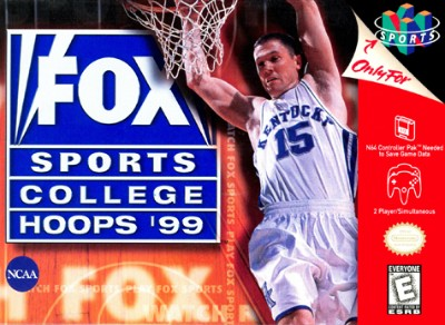 Fox Sports College Hoops '99 Cover Art