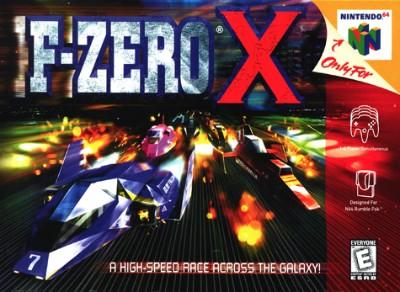 F-Zero X Cover Art