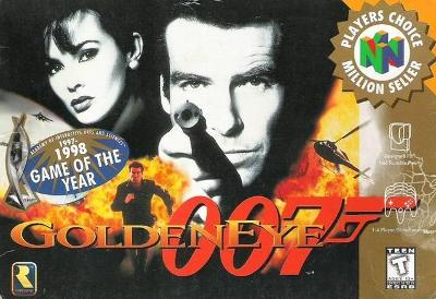 GoldenEye: 007 [Player's Choice] Cover Art