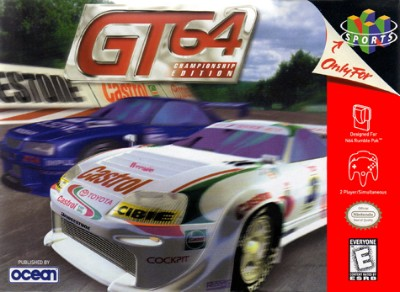 GT 64: Championship Edition Cover Art