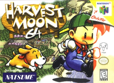 Harvest Moon 64 Cover Art