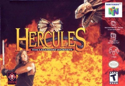 Hercules: The Legendary Journeys Cover Art