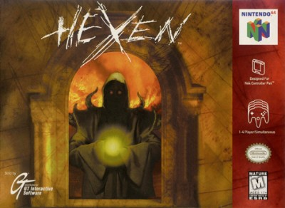 Hexen Cover Art