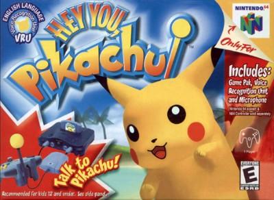 Hey You, Pikachu! Cover Art