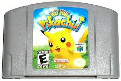 Hey You Pikachu! [Game Only] Cover Art