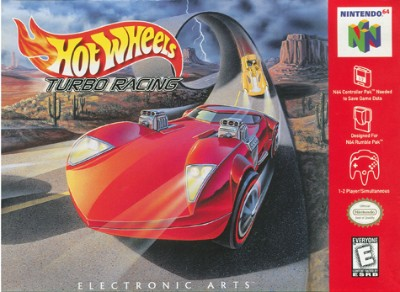 Hot Wheels: Turbo Racing Cover Art